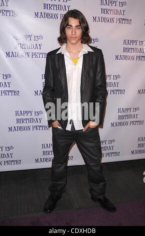July 31, 2011 - Hollywood, California, U.S. - Madison Pettis's 13th birthday party at Eden in Hollywood, CA  7/31/11 - Stock Photo