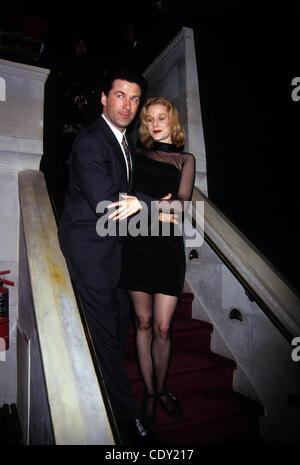 Aug. 8, 2011 - New York, New York, U.S. - L7543AR.ALEC BALDWIN & PENELOPE ANN MILLER.''The Shadow'' Premiere. 1994(Credit - Stock Photo