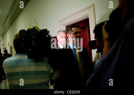 Sept. 23, 2011 - Washington, District of Columbia, U.S. - BRIAN HARRISON, president and CEO of Solyndra Inc. is - Stock Photo