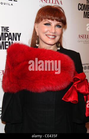 Georgette Mosbacher Screening of the new film 'The Company Men' at The Paris Theatre - Arrivals New York City, USA - Stock Photo