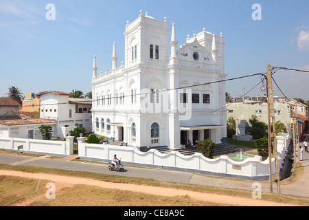 Sri Lanka, Galle, Fort Meeran Jumma Masjid, mosque - Stock Photo