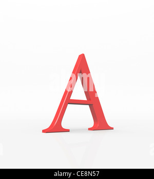Alpha first letter Greek alphabet represents various concepts in many sciences including physics chemistry It also - Stock Photo