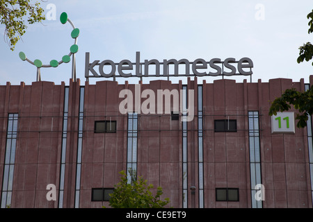 Koelnmesse, Cologne Trade fair, Cologne, Rhineland, North Rhine-Westphalia, Germany, Europe - Stock Photo