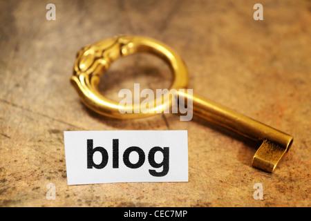 blog - Stock Photo