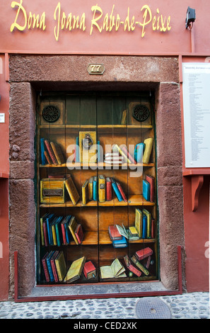 Zona Histroica do Funchal_Portas com Arte_Doors with Art in Funchal, Maderia, Portugal. - Stock Photo