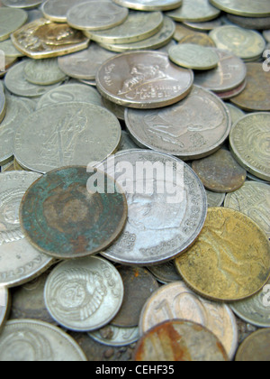 Coins in Uzbekistan - Stock Photo