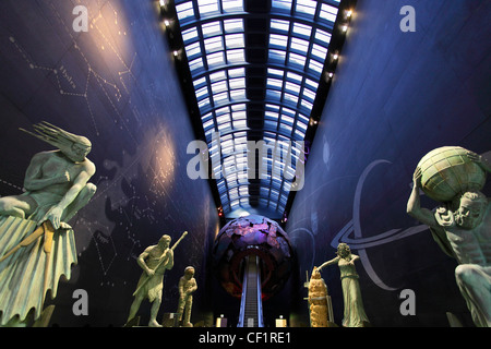 Entrance to the Science Museum in Kensington, London 3 - Stock Photo