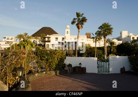 Hotel Gran Melia Volcan - Playa Blanca, Lanzarote, Canary Islands - Stock Photo
