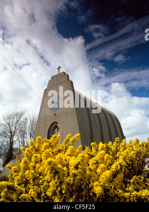 Our Lady, Star of the Sea, and St Winefride's Roman Catholic church. Designed by architect Giuseppe Rinvolucri, - Stock Photo
