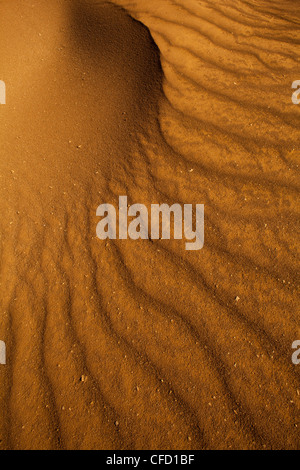 Sand formations in Sarigua national park (desert) in Herrera province, Republic of Panama. - Stock Photo