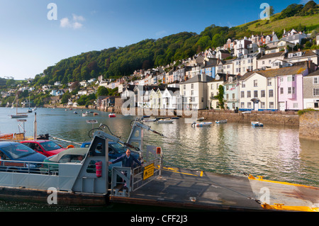 Bayard's Cove and River Dart, Dartmouth, Devon, England, United Kingdom, Europe - Stock Photo