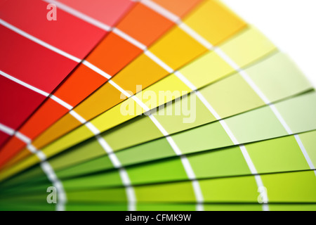 Coloured swatches - Stock Photo