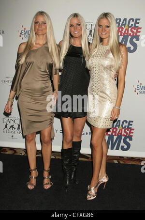 Apr 13, 2007; Los Angeles, California, USA;  DAHM TRIPLETS at the Race To Erase MS 2007 benefit heldat The Hyatt - Stock Photo