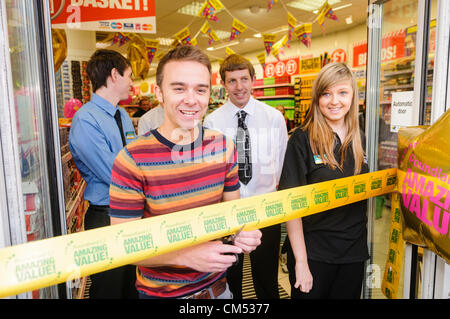 Ballyclare, County Antrim. 06/10/2012 - Jack P. Shepherd, a.k.a. David Platt in the soap opera Coronation Street, - Stock Photo