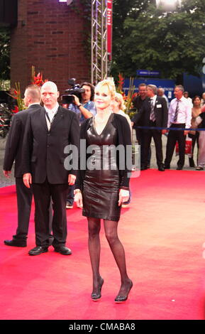 Melanie Griffith pose for the press on the red carpet, international filmfestival 2012, gasteig, in munich, germany, - Stock Photo