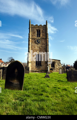 St Peters Parish Church Osmotherley near Northallerton, North Yorkshire - Stock Photo