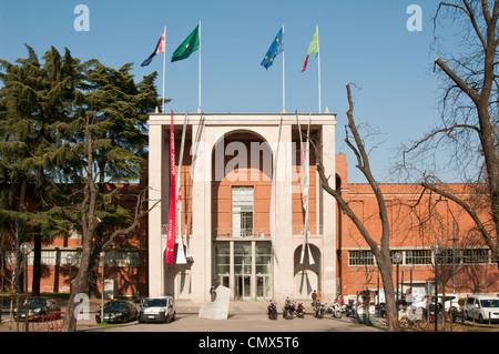 The design museum in Milan - Palazzo dell' Arte in Parco Sempione - Stock Photo