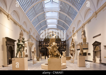 United Kingdom, London, South Kensington, Victoria and Albert Museum (V&A Museum) founded in 1852, specialised in - Stock Photo