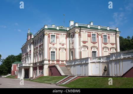 Estonia (Baltic States), Harju Region, Tallinn, Kadriorg Palace - Stock Photo
