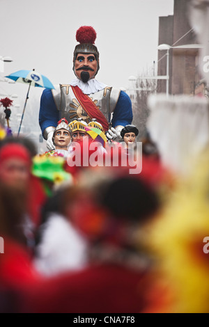 France, Nord, Dunkirk, Malo les Bains, Carnival of Dunkirk - Stock Photo
