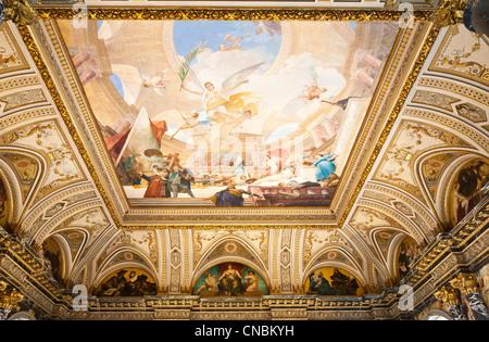 Austria, Vienna, Ring, Kunsthistorisches museum built in 1891 by Carl von Hasenauer and Gottfried Semper for the - Stock Photo