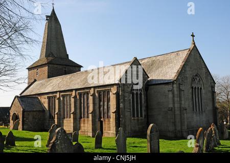 St Peters Church North Tawton - Stock Photo
