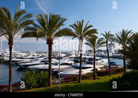 Puerto Portals in Majorca, Spain - Stock Photo