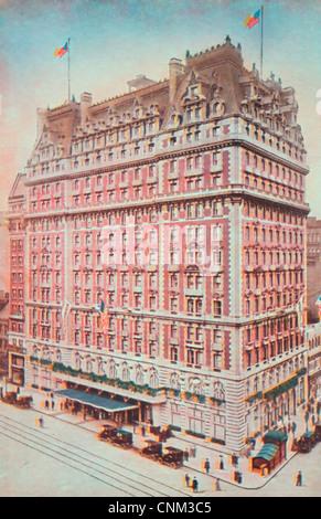 Knickerbocker Hotel - New York City circa 1915 - Stock Photo