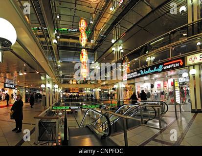 Berlin, Germany. Europa-Center in Breitscheidplatz. - Stock Photo