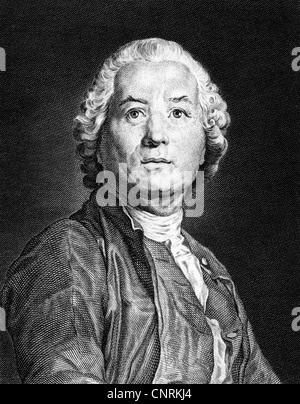 Gluck, Christoph Willibald, 2.7.1714 - 15.11.1787, German musician (composer), portrait, steel engraving, 19th century, - Stock Photo
