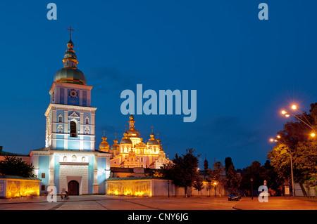 St Michael's Church, Kiev, Ukraine, Europe. - Stock Photo
