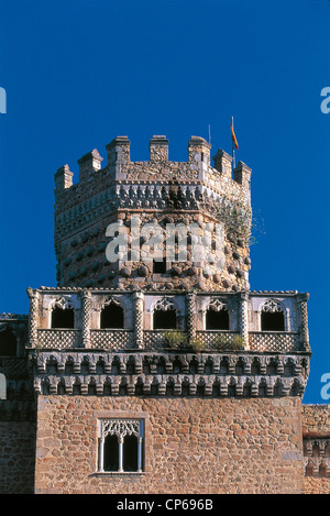 Manzanares el Real MADRID SPAIN CASTLE - Stock Photo