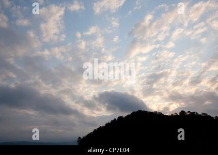 Sunrise at Broken Bow Lake – Southeastern Oklahoma - Stock Photo