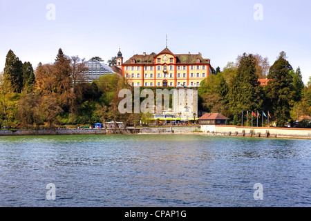 Mainau Flower Island, Lake Constance, Baden-Wurttemberg, Germany - Stock Photo