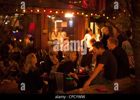 Cargo nightclub East London - Stock Photo