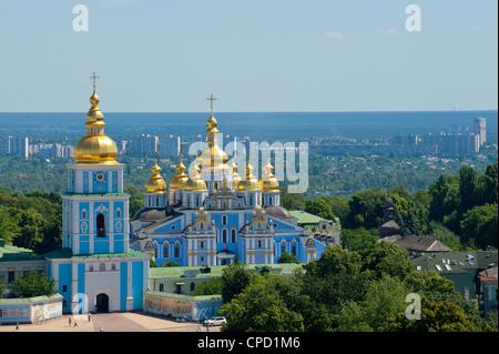 St. Michael's Church, Kiev, Ukraine, Europe - Stock Photo