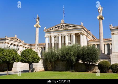 Athens Academy Building, Athens, Greece, Europe - Stock Photo