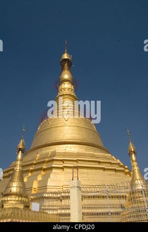 Botataung Pagoda, Yangon (Rangoon), Myanmar (Burma), Asia - Stock Photo