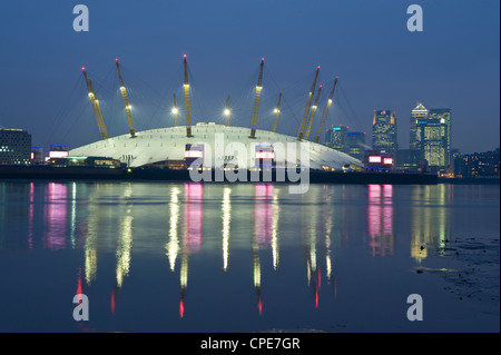 The O2 Arena, Docklands, London, England, United Kingdom, Europe - Stock Photo