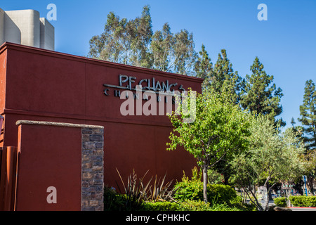 PF Chang's Restaurant in Woodland Hills California - Stock Photo