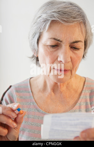 SELF MEDICATION - Stock Photo