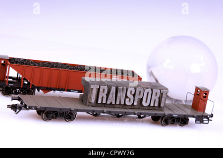 Transport concept RF - Stock Photo