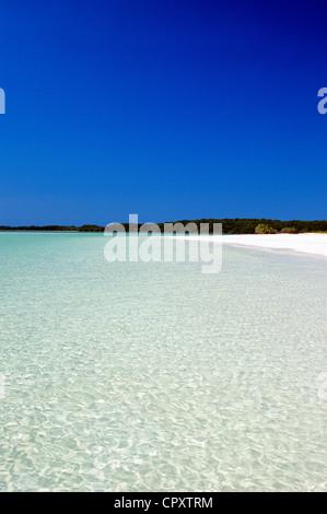 Cuba, Villa Clara Province, Jardines del Rey, Cayo Santa Maria, beach - Stock Photo