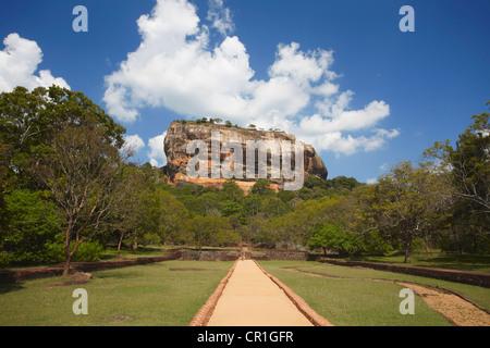 Sigiriya (UNESCO World Heritage Site), North Central Province, Sri Lanka - Stock Photo
