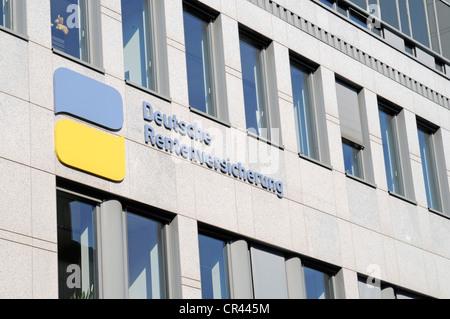 German pension insurance, Rhineland, Duisburg, Ruhrgebiet region, North Rhine-Westphalia, Germany, Europe - Stock Photo