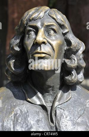 Copernicus, Nicolaus, 19.2.1473 - 24.5.1543, Polish astronomer, portrait, Allenstein Olsztyn Bischofsburg Museum, - Stock Photo