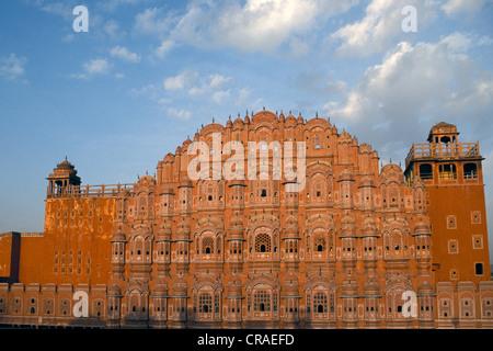 Hawa Mahal or Palace of Winds, Jaipur, Rajasthan, India, Asia - Stock Photo