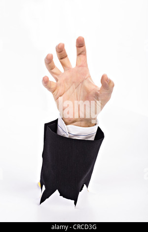 Symbolic picture for fighting against the bureaucracy - Stock Photo