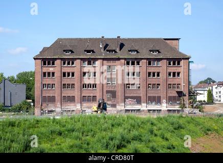 Former Huettenwerk Phoenix-Ost steelworks, administration buildings, urban redevelopment site, Zukunftsstandort - Stock Photo