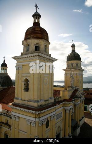 Cathedral of Santiago de Cuba, Cuba, Greater Antilles, Caribbean - Stock Photo